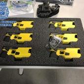La Policía Nacional ha adquirido 300 pistolas eléctricas