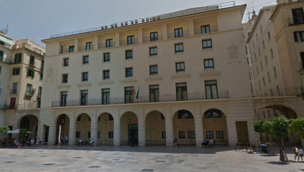 Fechada de la Audiencia Provincial de Alicante