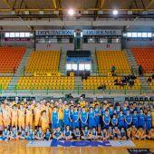 La cantera del Club Ourense Baloncesto arranca los entrenamientos