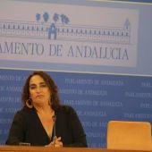 Ángela Aguilera, portavoz de Adelante Andalucía