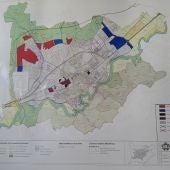 Plano del Plan General de Ordenación Urbana de Alcalá de Henares