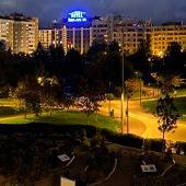 Contaminación lumínica de Pamplona