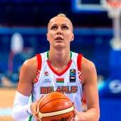 Yelena Levchenko, pívot bielorrusa