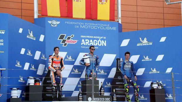 """Álex Rins: """"La victoria sobre Márquez en Silverstone sigue siendo la mejor"""""""