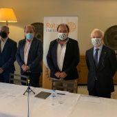 Presidentes rotarios salientes y entrantes de Elche 2020