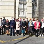 Las autoridades han participado en la cuestación de AMUMA en Ciudad Real
