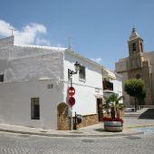 Calle Fermín Salvochea, en el centro de Rota