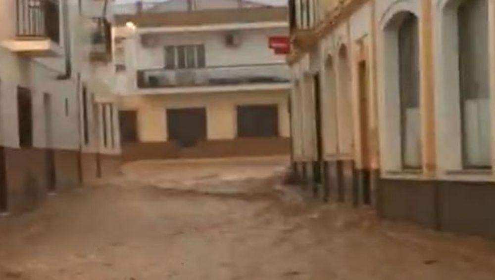 Riada en el municipio de Cabezas Rubias