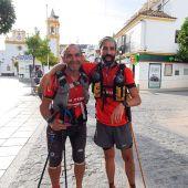 Pedro Domínguez y Víctor Doblas