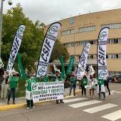 Protestas sanitarias
