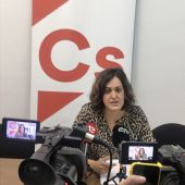 Eva María Crisol, portavoz de Ciudadanos Elche.
