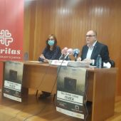 Carmen Nieto y Ángel Ruiz durante la rueda de prensa celebrada en Ciudad Real