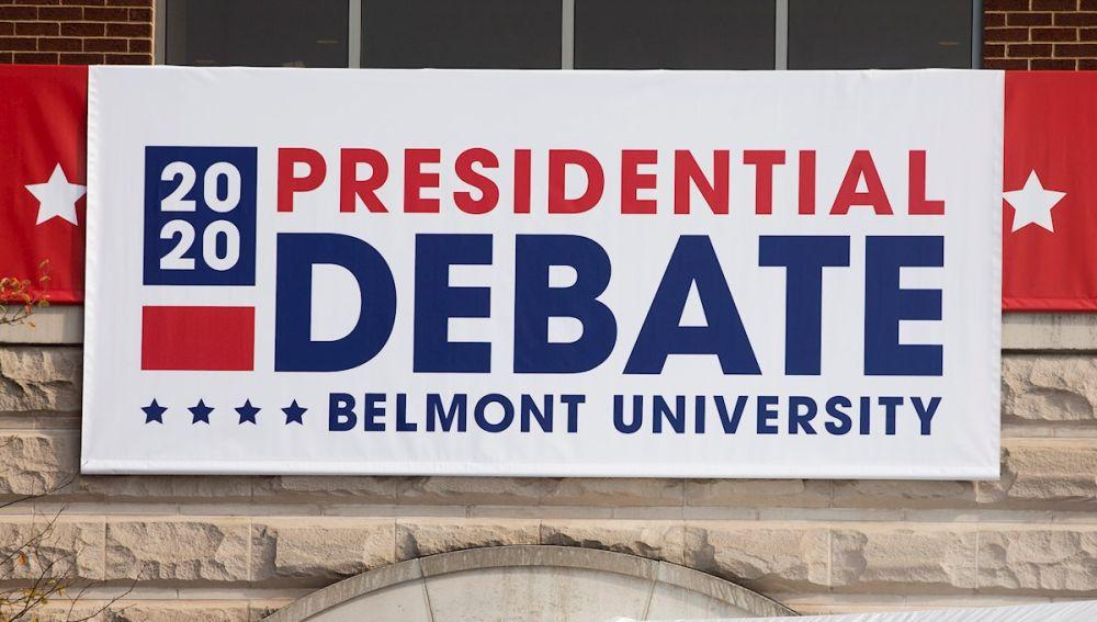Preparativos para el segundo debate entre Trump y Biden