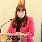 Sira Repolles, consejera de Sanidad del Gobierno de Aragón