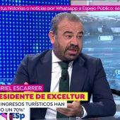 El presidente de Exceltur, Gabriel Escarrer, se tomará hoy 'Un café con Susanna'