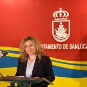 Ana Sumariva, delegada de Fomento del Ayuntamiento de Sanlúcar