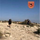 Operación de ayuda del SPEIS en la Serra Grossa