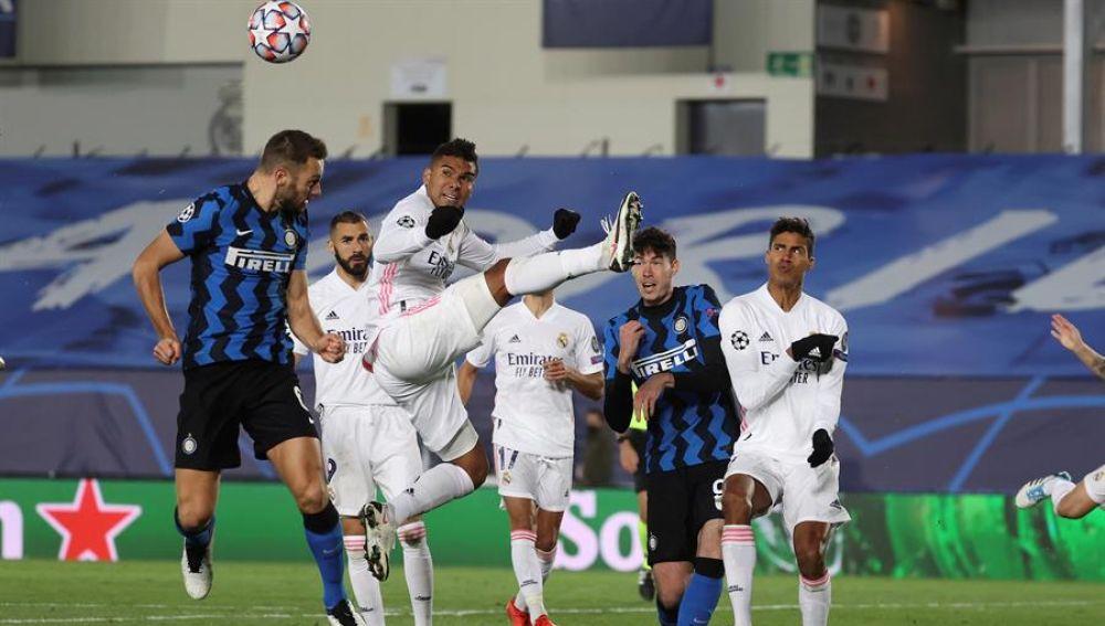 Un gol de Rodrygo Goes da aire al Real Madrid en la Champions