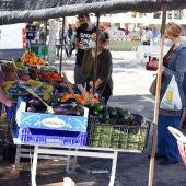 El mercadillo de Ciudad Real amplia el número de puestos de venta