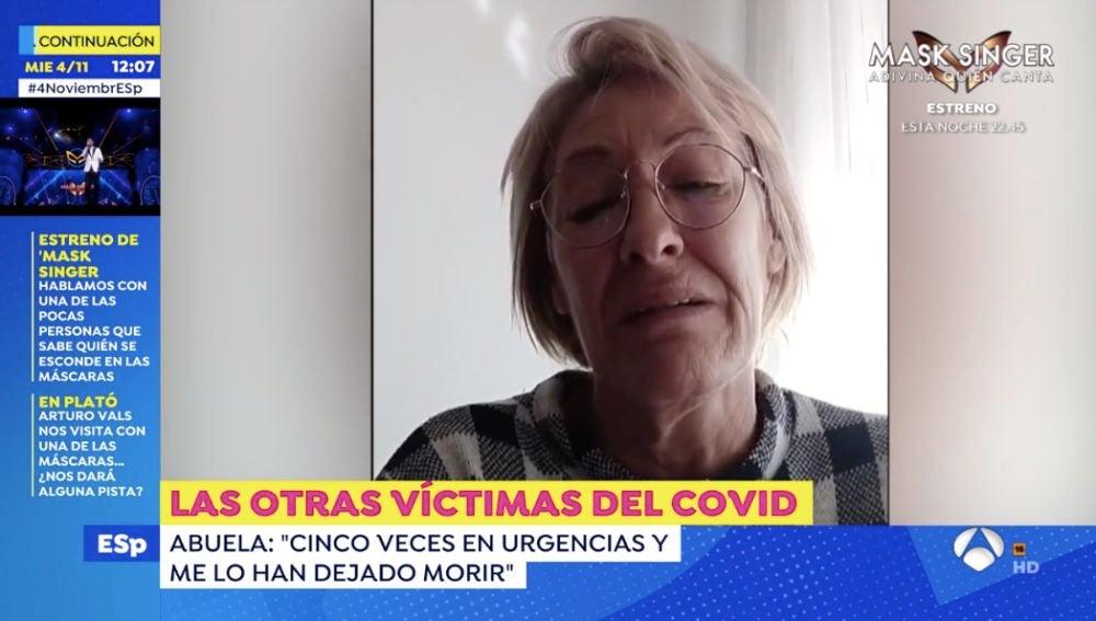 El desgarrador vídeo de una abuela tras la muerte de su nieto de 8 años en Alicante
