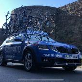 Llega a Lugo la Vuelta Ciclista a España