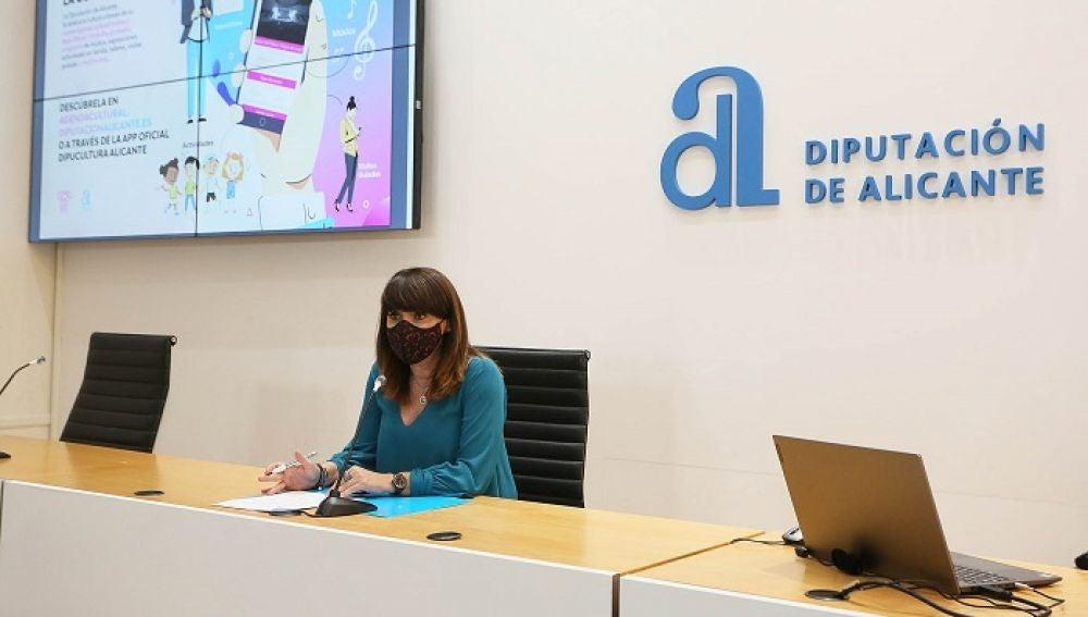 Julia Parra, vicepresidenta y diputada provincial de Cultura