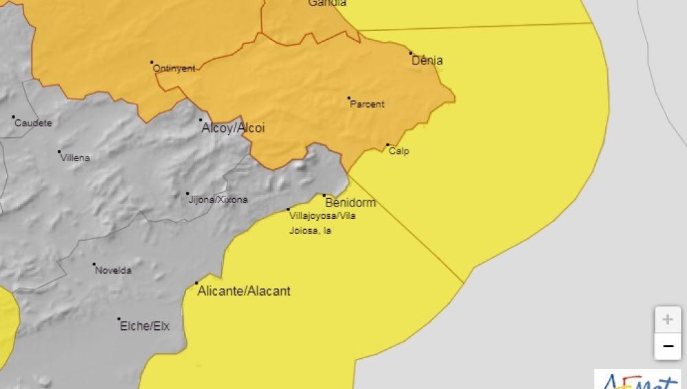 Alerta Naranja en el tercio norte provincial