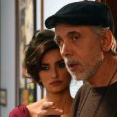 Fernando Trueba y Penélope Cruz, en el rodaje de 'La reina de España'