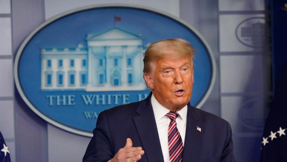 """Donald Trump: """"Con los votos legales gano yo; con los ilegales, Biden"""""""