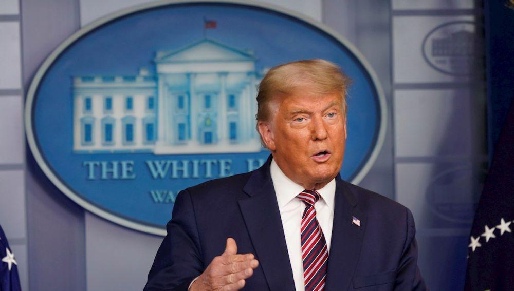Donald Trump, 45.º de los Estados Unidos.