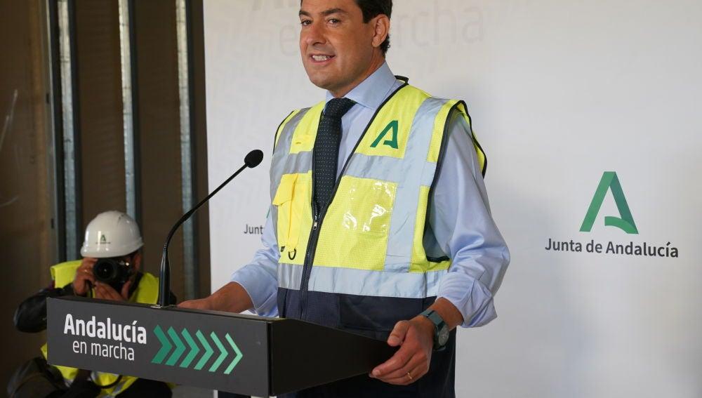 Juan Manuel Moreno, presidente de la Junta de Andalucía