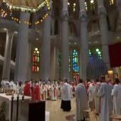 La Generalitat investigará si se cumplieron las restricciones en una misa de la Sagrada Familia con más de 600 asistentes