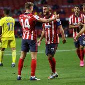 El Atlético evoluciona hacia el liderato
