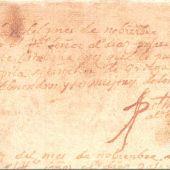 Partida Bautismo Cervantes