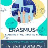 """El IES Miguel de Cervantes comienza su andadura en los programas Erasmus + con su proyecto """"El Cervantes vuelve a Europa"""""""