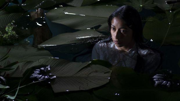 La actriz María Mercedes Coroy, en un fotograma de 'La llorona'