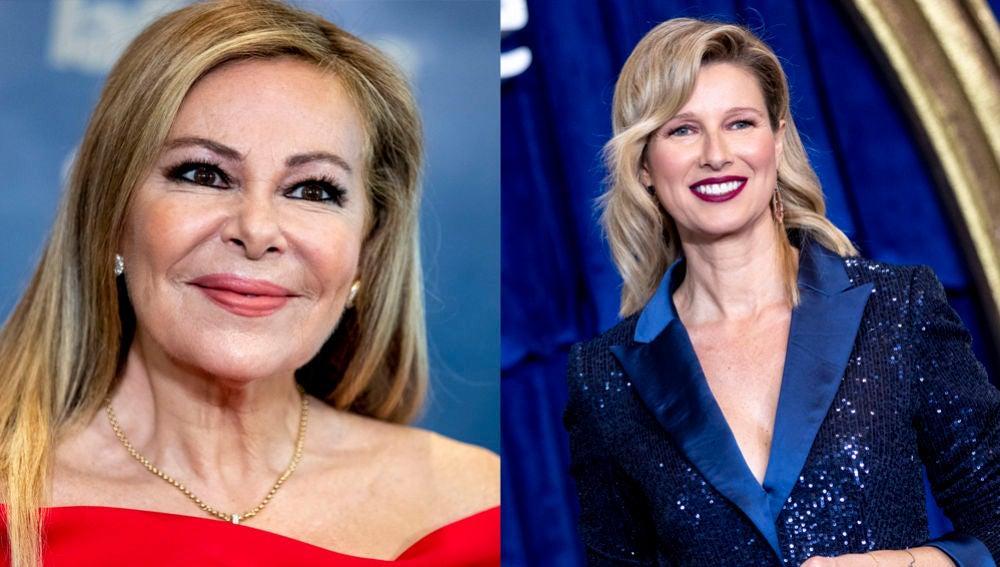 Ana Obregón y Anne Igartiburu darán las campanadas en TVE