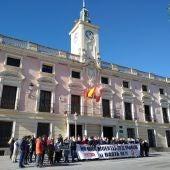 Concentración de sindicatos en Alcalá de Henares