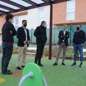 A Xunta colabora na creación dun parque infantil no Concello de Nogueira de Ramuín