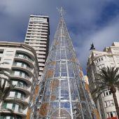 El árbol de Navidad este año está en la Rambla con Explanada