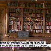 La biblioteca de Pardo Bazán en el Pazo de Meirás pide ser Bien de Interés Cultural