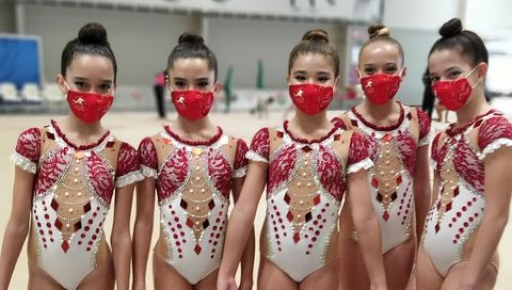 El equipo alevín firmado por Noa Lucas, Irene Navarro, Marta Linde, Esther Soler y Ana Ambit fue sexto de España, entre los 32 conjuntos participantes.