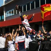 Albert Arenas, campeón de Moto3.