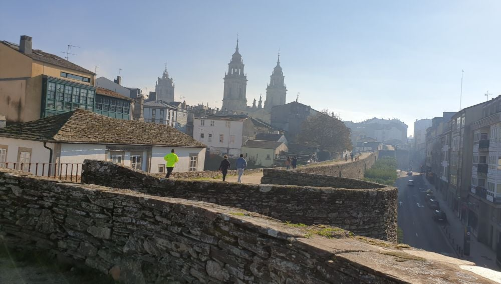 #anosamuralla nuevo canal de Youtube de la Muralla de Lugo