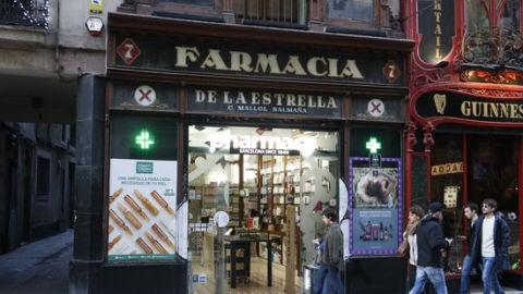 Imatge d'una farmàcia de Barcelona