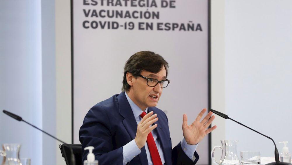 Salvador Illa, ministro de Sanidad