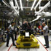 La planta del grupo Stellantis en Zaragoza ha realizado varios paros técnicos por falta de chips