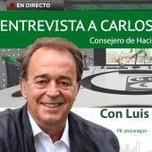 Entrevista a Carlos Pérez Anadón, consejero de Hacienda del Gobierno de Aragón