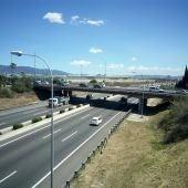 Autopista Ma-20, también conocida como Via de Cintura, una de las principales arterias de la red viaria de Mallorca
