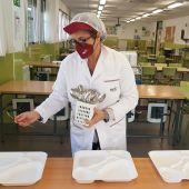 Comedor escolar gestionado por IRCO